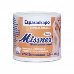 Esparadrapo Impermeável Hipoalérgico Missner 2,5cm x 90cm - Sem Látex