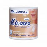 Fita Microporosa Bege Missner 5cm x 4,5m