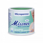 Fita Microporosa Branca Missner 2,5cm x 90cm